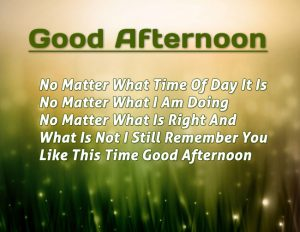 Inspiring Good Afternoon Positive Quotes