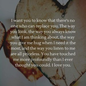 Paragraph About How Much You Love Her