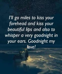 Good Night Message To Make Her Fall In Love With You