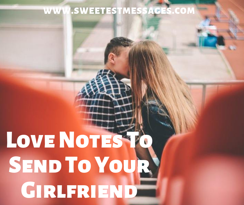 Sweet notes to leave your girlfriend