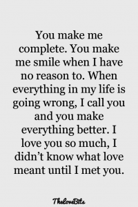 A Paragraph On How Much I Love You