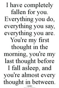 Best paragraph to send to your girlfriend
