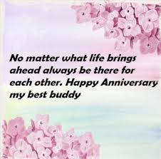 Wedding Anniversary Wishes For Best Friend